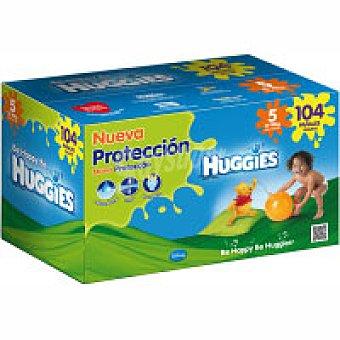 Huggies Pañales 13-18kg Talla 5 paquete 104 unid