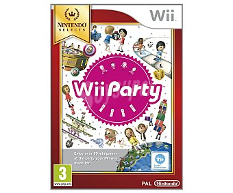 MINIJUEGOS Party Selects Wii