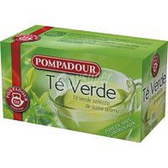 Pompadour Té verde Caja 20 sobres
