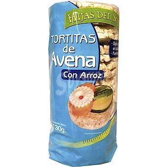Hijas del Sol Tortitas de avena con arroz Envase 130 g