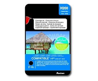 Auchan Cartucho Negro N°338 - C8765E (H200) 460C