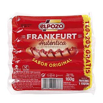 ElPozo Salchichas cocidas Frankfurt 160 g