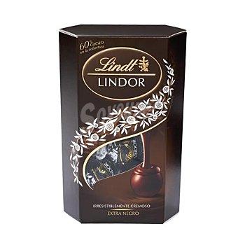 Lindt Bombones de chocolate negro Caja 200 gramos