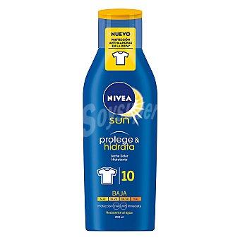Nivea Sun Leche solar hidratante FP-10 resistente al agua Protege & Hidrata Frasco 200 ml