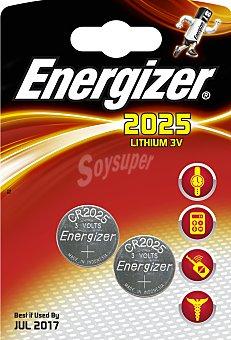 Energizer Pila especial CR2025 2 Unidades