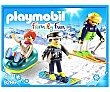 Equipo de esquiadores  Playmobil
