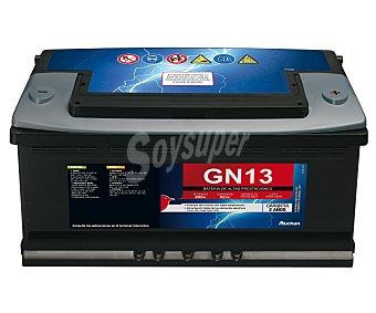 Genium Batería de automóvil de 12v y 92 Ah, GN13, con potencia de arranque de 800 Amperios con potencia de arranque de 800 Amperios