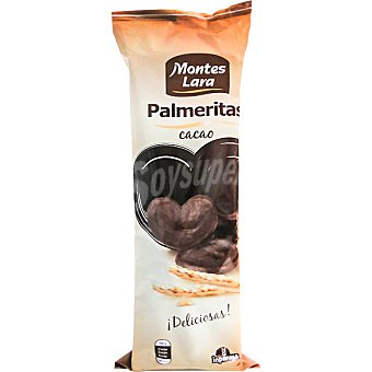 Montes Lara Palmeritas de cacao  Paquete 240 g