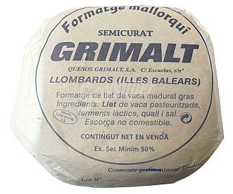 Grimalt Queso semicurado mallorquin grimat 3.000 gramos aproximados