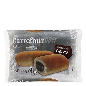 Carrefour Bollitos rellenos de cacao 300 g