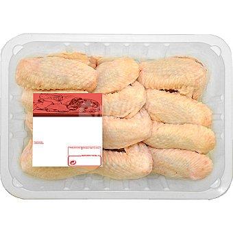 PUJANTE Alas de pollo formato ahorro peso aproximado bandeja 1, 5 kg