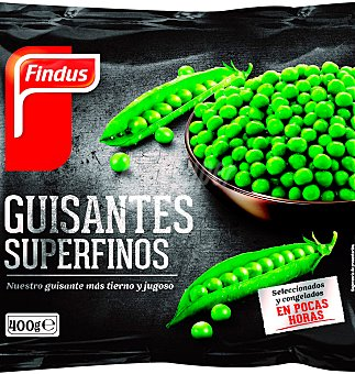 Findus GUISANTES SUPERFINOS 400 GRS