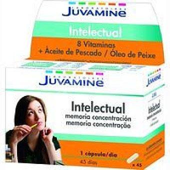 Juvamine Vitaminas intelectual en comprimidos Caja 45 unid