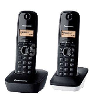 Panasonic Telefono dect duo kx TG1612SP1 blanco y negro panasonic panasonic