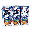 Bebida con leche mediterráneo zero Pack 3 briks x 330 ml Bifrutas Pascual