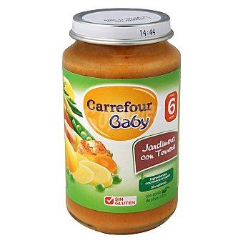 Carrefour Baby Tarrito de jardinera con ternera 250 g