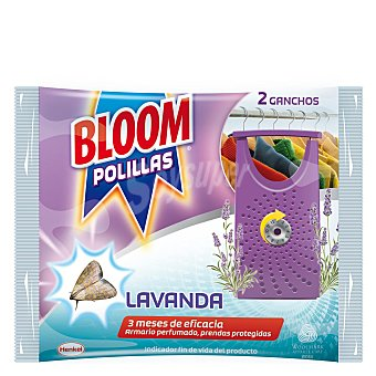 Bloom Gancho antipolillas de lavanda Pack 2 unid