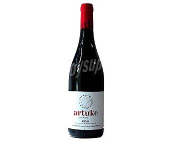 Vino tinto joven con denominación de origen Rioja artuke Botella de 75 cl