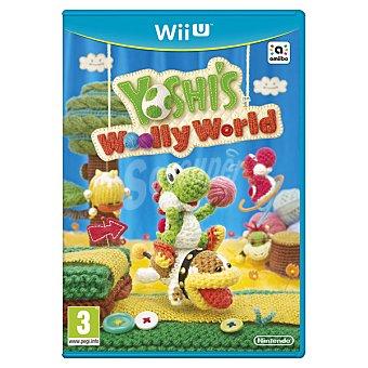 WII U Videojuego yoshi's Woolly World para Wii U