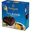 Cuor di Crema corazón relleno de crema pastelera y cobertura de chocolate 1894 Estuche 400 g Melegatti