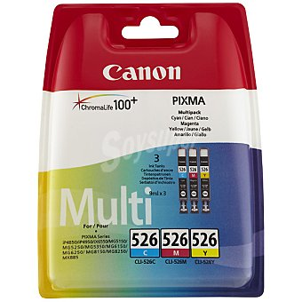 CANON CLI-526 C/m/y multipack tricolor