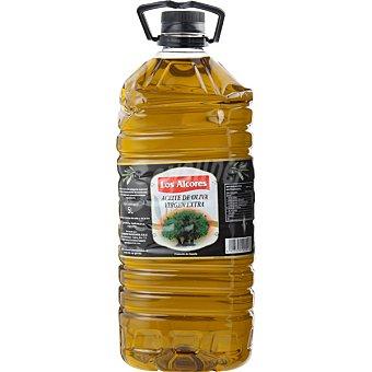 LOS ALCORES Aceite de oliva virgen extra  Botella de 5 L