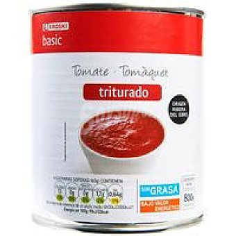 Eroski Basic Tomate triturado Lata 800 g