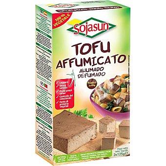 Sojasun Tofu ahumado sin lactosa envase 250 g Pack 2 x 125 g