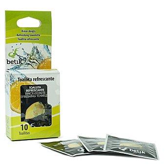 Betik Toallitas refrescantes Caja 10 unidades