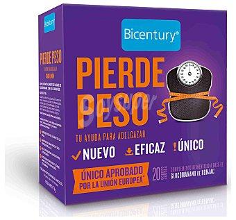 Bicentury Pierde peso complemento alimenticio a base de glucomanano de konjac Envase 76 g (20 uds)