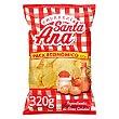 Patatas fritas con sal, lisas 320 g Santa Ana