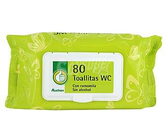 Productos Económicos Alcampo Toallitas wc húmedas 80 uds