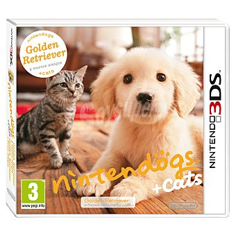 Nintendo Videojuego Nintendogs + Cats: Golden Retriever para 3DS