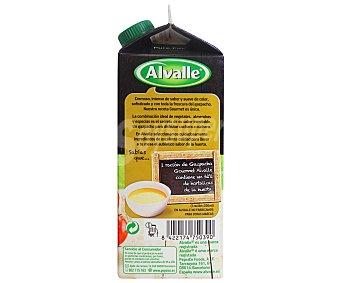 Alvalle Gazpacho gourmet con almendras Brick 750 ml