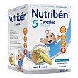 Papilla 5 cereales Caja 600 g Nutribén