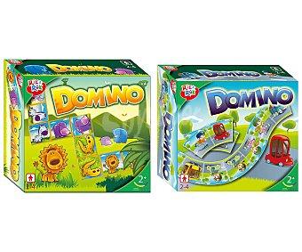 ONE TWO FUN ALCAMPO Dominó Educativo y divertido juego de dominó con ilustraciones de animales. De 2 a 4 jugadores alcampo