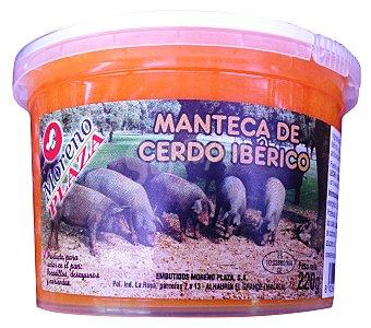 Embutidos Moreno Plaza Manteca colorada de cerdo iberico Tarrina 220 g