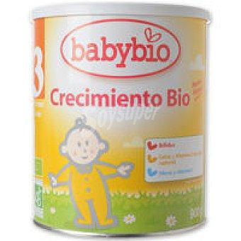 BABYBIO Leche de continuación 3 +12 meses Lata 900 g