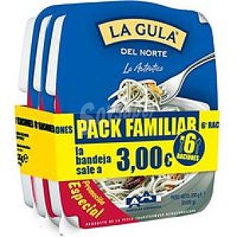 ANGULAS AGUINAGA La Gula del Norte Pack 3x200g