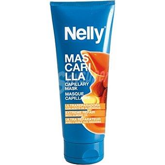 Nelly Mascarilla ultra reparadora con aceite de almendras Tubo 200 ml