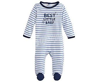 In Extenso Pijama pelele largo interlock para bebé talla 56