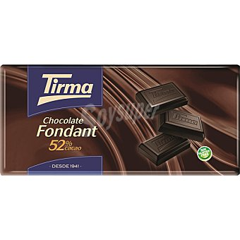 Tirma Chocolate fondant sin leche Tableta 150 g