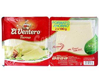 El Ventero Queso tierno Pack 2x180 g