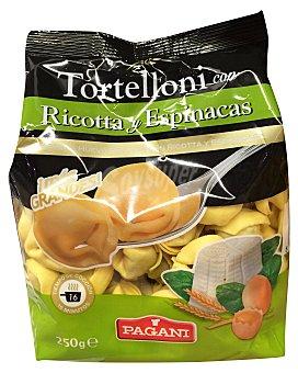 PAGANI Tortellini ricotta espinacas Paquete 250 g