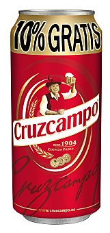 Cruzcampo Cerveza Lata 50 cl