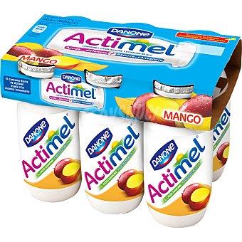 Actimel Danone Yogur líquido mango  6 unidades de 100 g