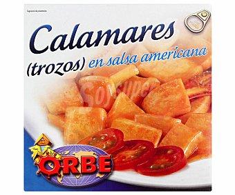 Orbe Calamares en Salsa Americana 168 Gramos Peso Escurrido