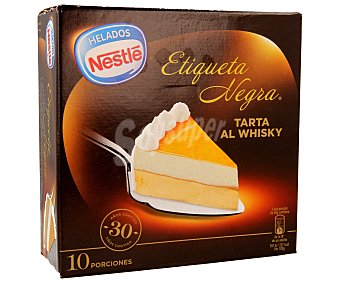 Nestlé Tarta helada al whisky de 10 raciones Etiqueta negra de 1 litro