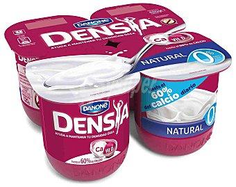 Densia Danone Yogur natural con calcio 0% Materia Grasa 4 unidades de 120 g