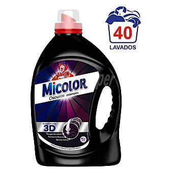 Micolor Detergente líquido para oscuros intensos Micolor 40 lavados